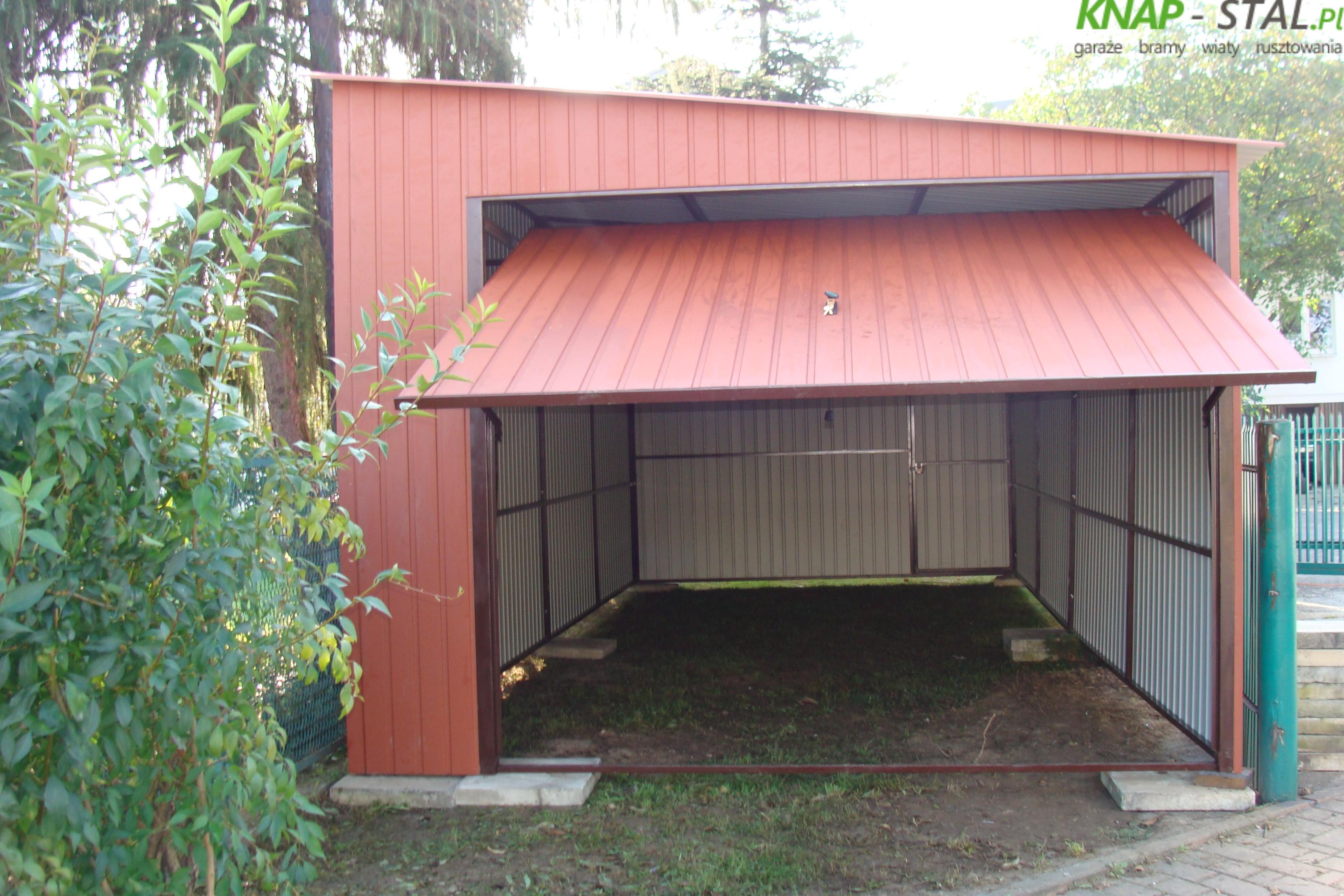 Garaże blaszane wymiary